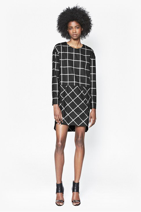Ciao Checked Dress