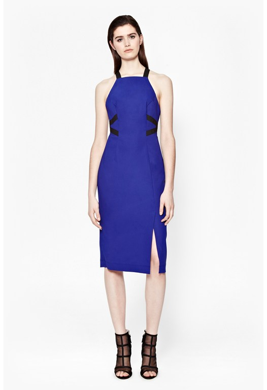 Edyta Panelled Stretch Dress