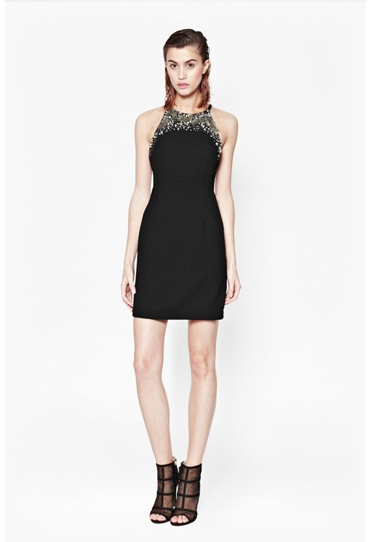 New Moon Embellished Dress