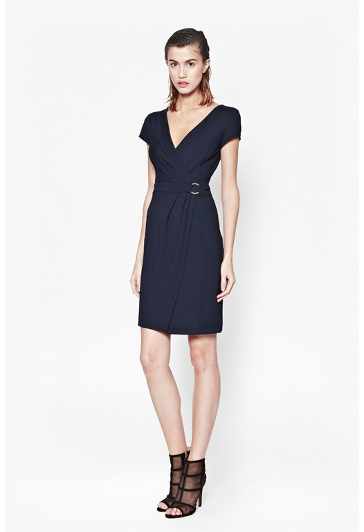 Jennifer Tux Wrap Dress