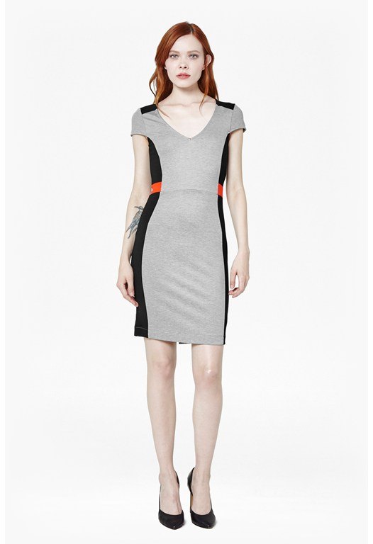 Manhattan Stretch-Jersey Dress