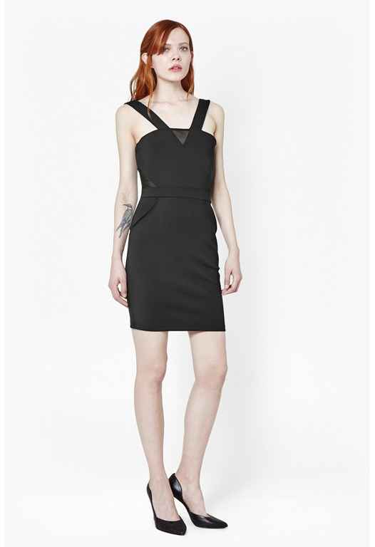 Sicily Scuba Bodycon Dress