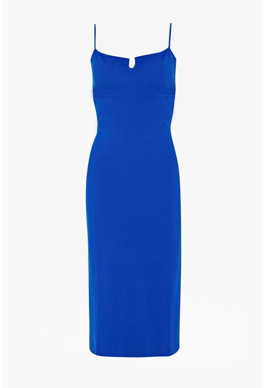 Marie Cut-Out Stretch Jersey Dress