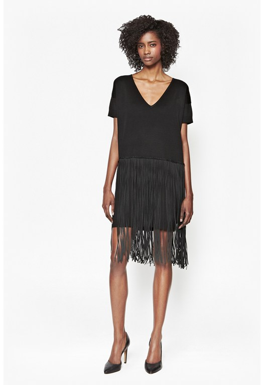 Spotlight Fringe Dress