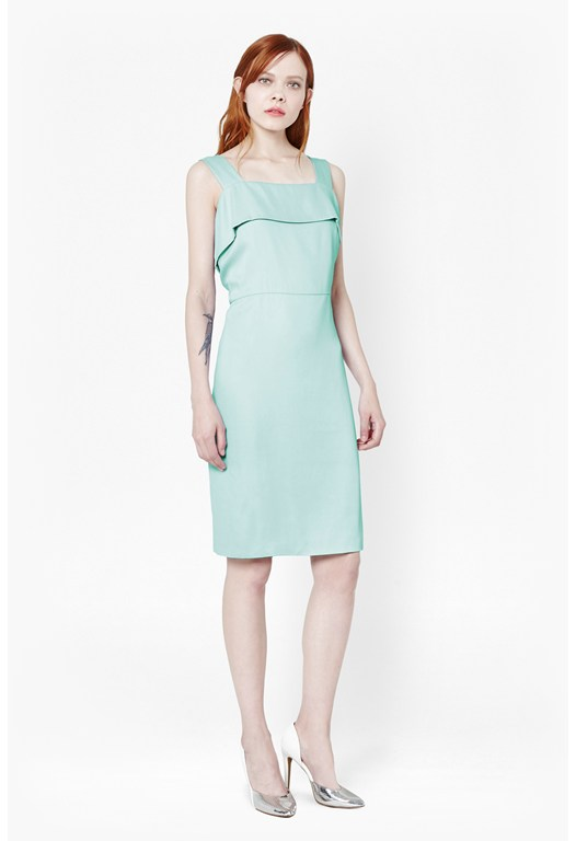 Betty Block Tie Back Dress