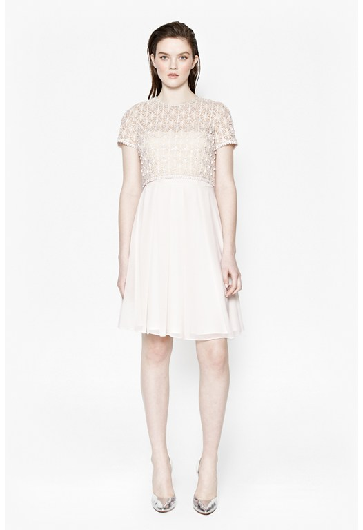 Kristal Lace Layer Dress