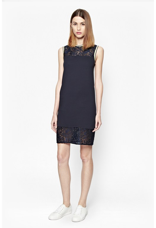Fast Hannah Lace Tunic Dress