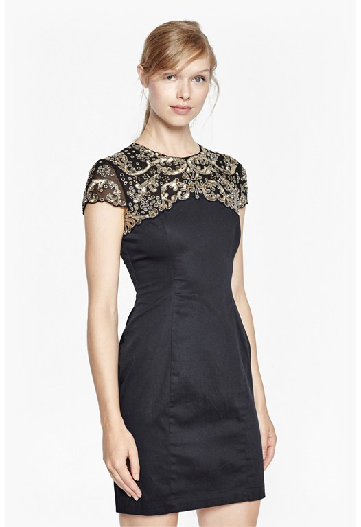 Aspen Sequin Embellished Dress