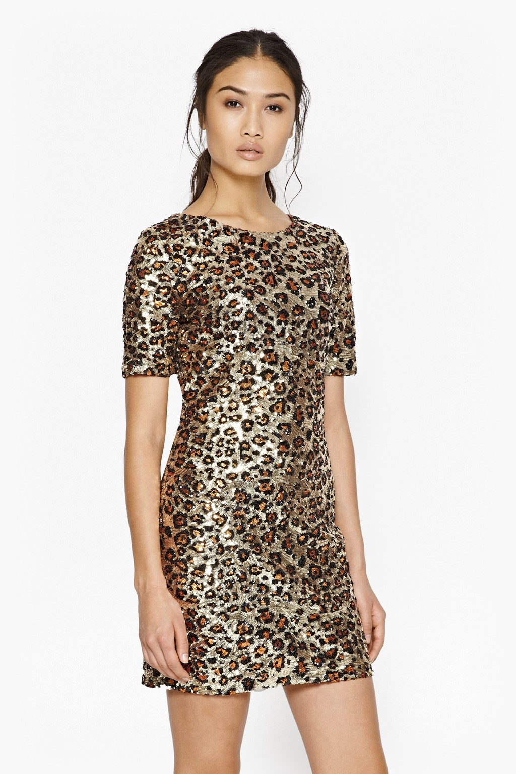 Leo Luxe Sequin Dress Dresses French Connection