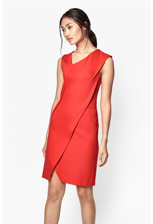 Lula Stretch Asymmetric Dress