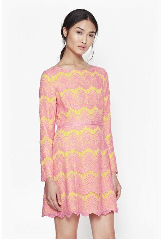 Linea Lace Shift Dress