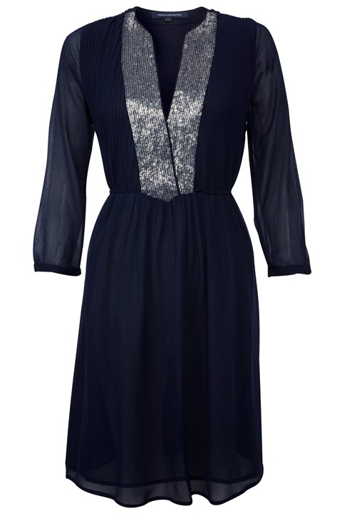 Rachel Silk Flared Dress