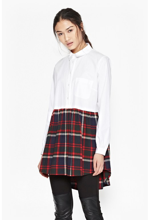 Castle Check Shirt Dress