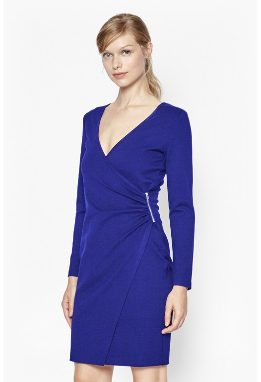 Lula Stretch Zip Detail Dress