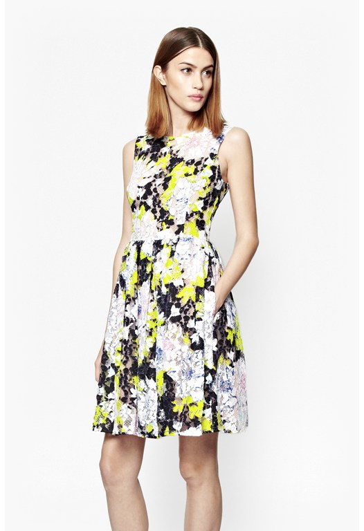 Botanical Trip Lace Dress