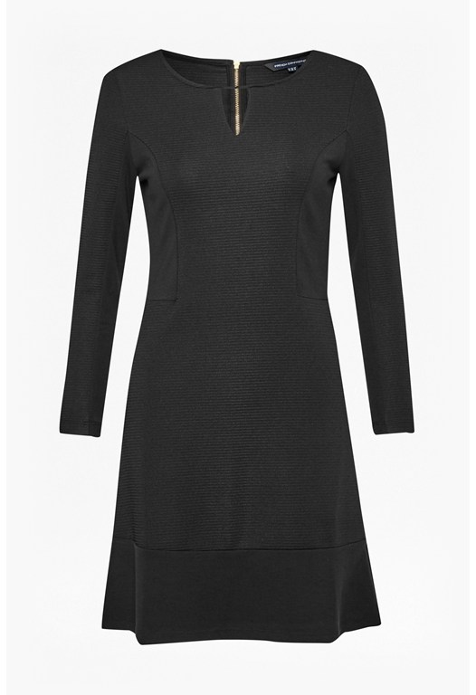 Manhattan Rib Detail Dress