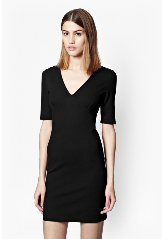 Lula Stretch V-Neck Dress