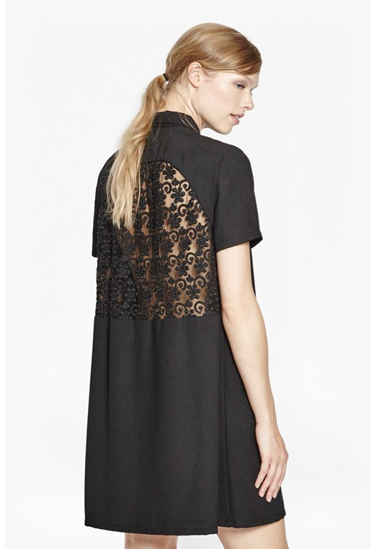 Maui Lace Shirt Dress