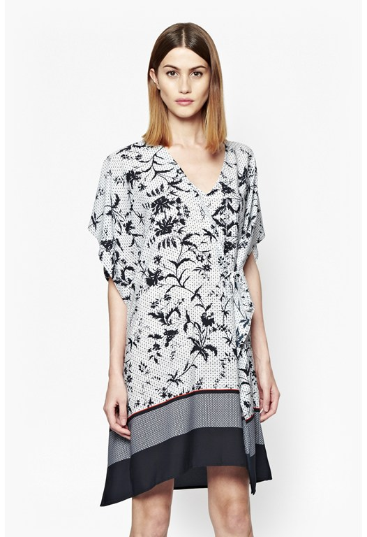 Imperial Print and Colour Block Tunic