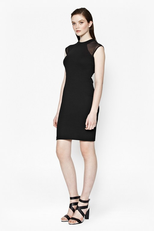 Viven Panelled Bodycon Dress