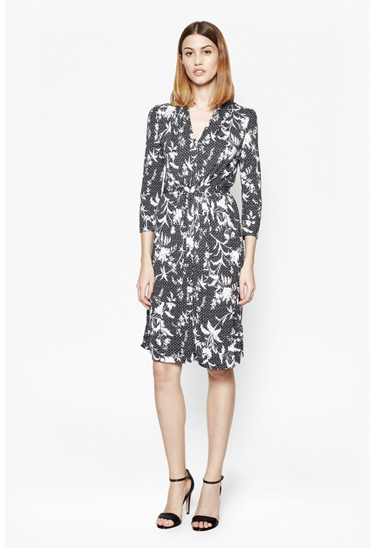 Imperial Printed Jersey Dress