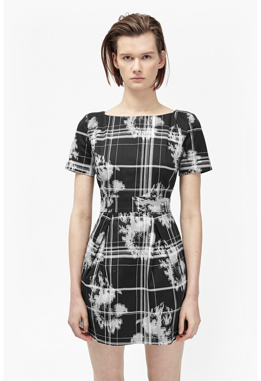 Wilderness Checked Dress
