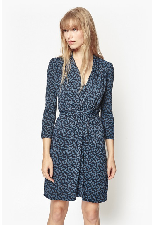 Penny Paisley Print Dress