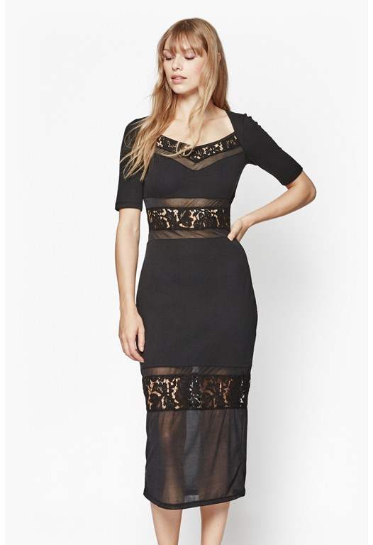 Lucky Lace Layered Dress