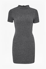 Looks Great With Ripple Jersey Bodycon Dress