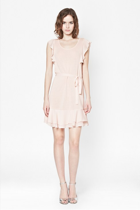 Penny Plains Fluted Dress