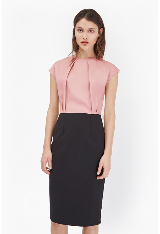 Rikki Two Toned Pencil Dress
