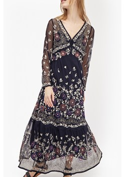 Mara Bloom Embroidered Maxi Dress