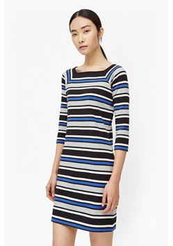 Suo Stripe Stretch Dress