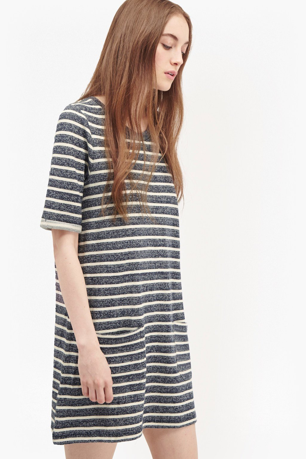 Normandy Stripe T Shirt Dress Collections French