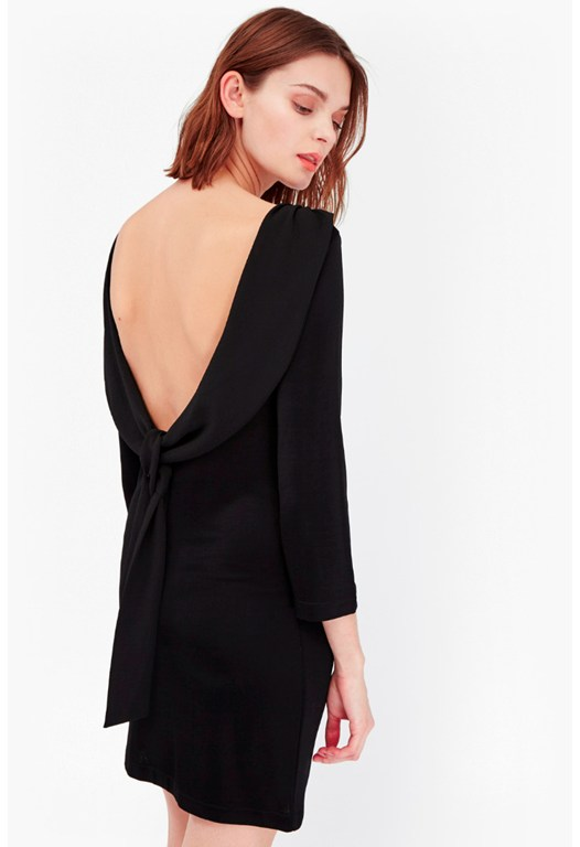 Wonder Jersey Tie Back Dress