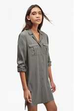 Looks Great With Kruger Tencel Shirt Dress