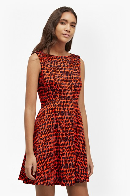 Canyon Sands Fit and Flare Dress
