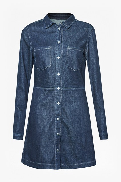 Edie Denim Mini Dress