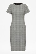 Looks Great With Empire Check Pencil Dress