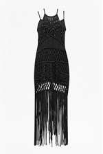 Looks Great With Tiger Lily Macrame Midi Dress