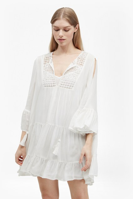 Castaway Lace Gypsy Tunic Dress