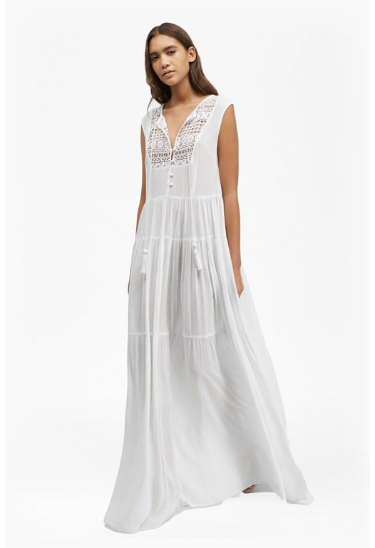 Castaway Lace Maxi Dress