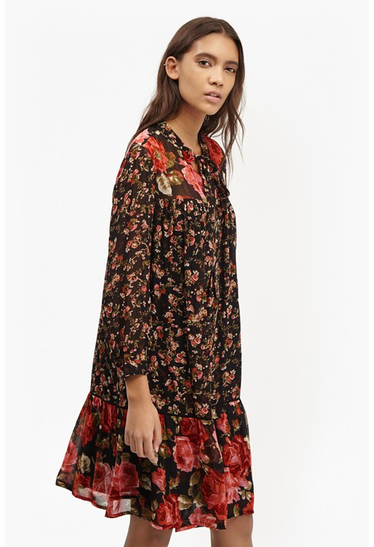 Anastasia Floral Relaxed Tea Dress