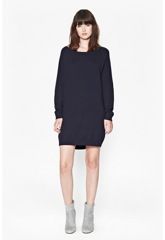 Marla Merino Wool Jumper Dress