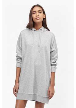 Chain Zip Pocket Sweatshirt Dress