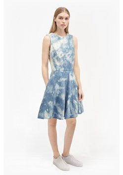 Indigo Marble Denim Dress