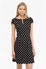 Looks Great With Dotty Spot Cotton Mini Dress