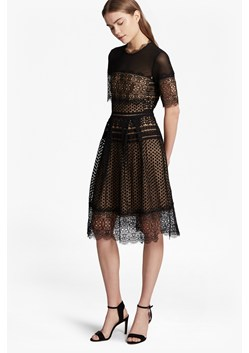 Anouk Lace Flared Dress