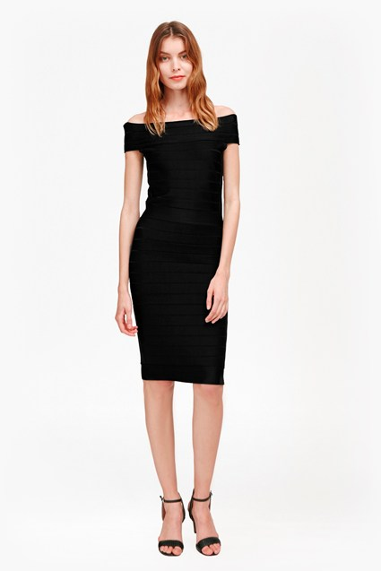 Spotlight Star Knits Bardot Dress