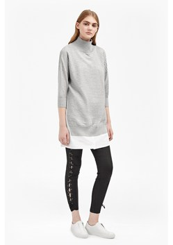 Mozart Mix High Neck Jumper Dress